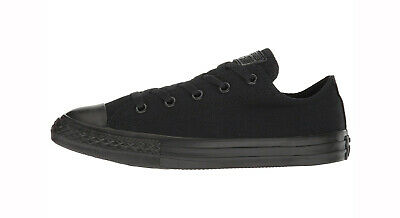 Converse All Star Basso scarpe nere Chuck Taylor Bambine Youth ...