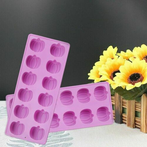 Halloween Silicone Mould Pumpkin Cake Chocolate Decor Baking Mold Suitable US/_