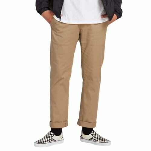 Khaki All Sizes Volcom Frickin Modern Stretch Mens Pants Chino