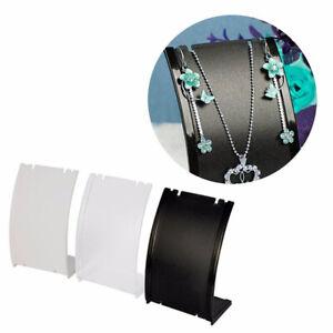 HO/_ Necklace Pendant Bracelet Jewelry Display Holder Storage Rack Stand Bracket