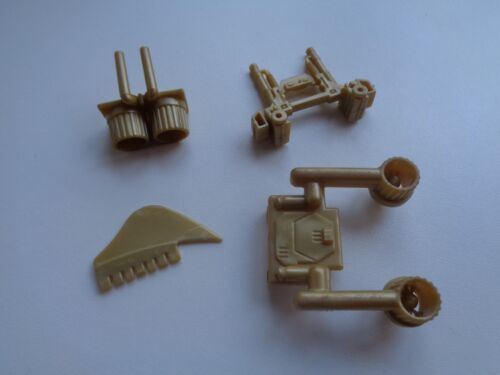 Gi Joe part DESTRO/'S DESPOILER 1988 EXHAUST NOZZLES GUN STABILIZER FIN THRUSTERS
