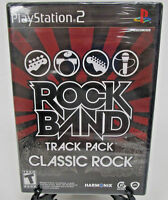 Rock Band Track Pack Classic Rock Sony Playstation Ps2 2009 Factory Sealed