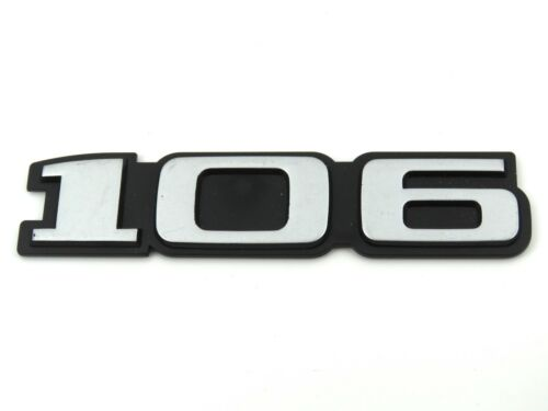 Genuino NUEVO PEUGEOT 106 Boot Insignia Emblema trasero Para Mk1 1991-1996 GTI Xnd xa Xn