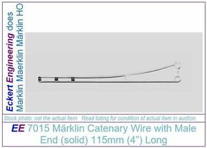 EE-7015-NEW-Marklin-HO-Catenary-115mm-4-034-Wire-Male-End-7015N