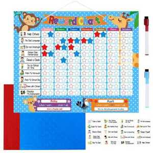 Image Is Loading Reward Chart For Kids Children By Magnetic Star