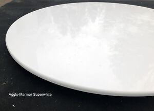 Weisse-runde-Tischplatte-Marmorplatte-Esstischplatte-Arbeitsplatte-Bistro-Stein