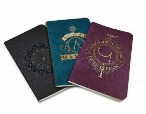 Harry Potter: Spells Pocket Notebook Collection (Set of 3) by Insight Editions