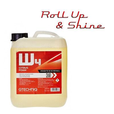 Gtechniq W4 Citrus Snow Foam 5L for Foam Lance PH Neutral