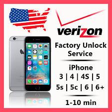 VERIZON iPhone Unlock Service Code for 4S 5 SUPER FAST