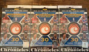 2019-20-Panini-Chronicles-Basketball-Hanger-Box-Lot-Of-3-Zion-Ja-Luminance