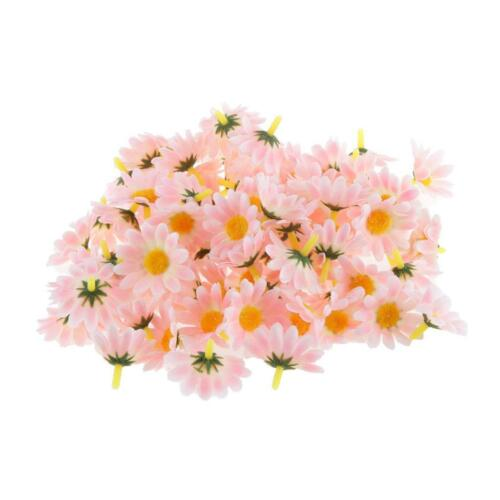 100Pcs Beauty DIY Baby Girls Fabric Flowers Hair Clip Chiffon Headband Kit Craft