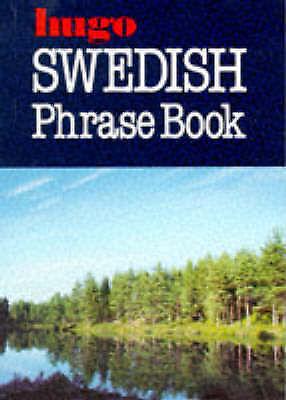 Hugo Swedish Phrase Book, Stina Bruce-Jones, Very Good Book