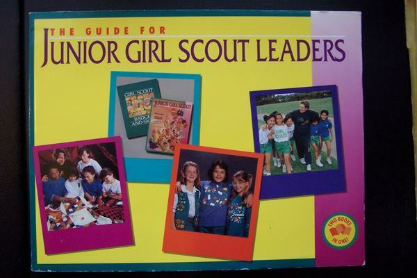 Junior Girl Scout Leaders Guide Book First Impression 1