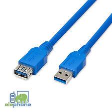 2m USB 3.0 SuperSpeed Typ A Stecker Zu Buchse Verlängerungskabel