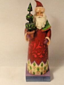 Jim-Shore-Santa-Figurine-Holiday-Trim-8-inch-NO-BOX
