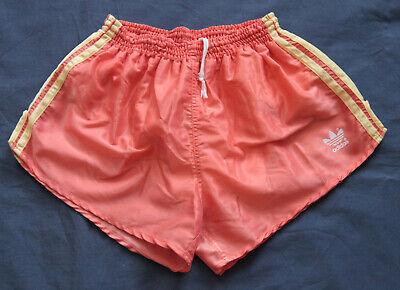 Adidas Shorts Glanz Sprinter Nylon Shiny Silky D6 Retro Vintage Sporthose Gay Jahre Lang StöRungsfreien Service GewäHrleisten
