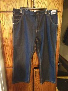DieHard Carpenter Pants Relaxed Fit Dark Wash Denim w// Teflon Fabric NWT