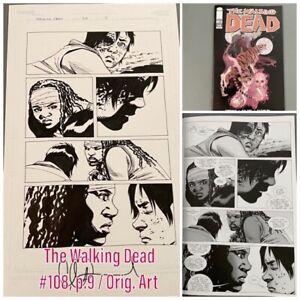 Carl & Michone — The Walking Dead #108, p.9, orig art Charlie Adlard, Kirkman