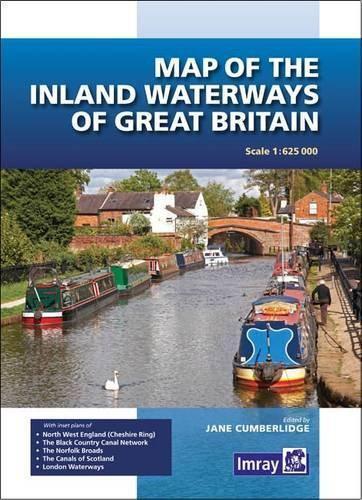 Carte De The Inland Waterways Grande-Bretagne Par Cumberlidge Jane Neuf