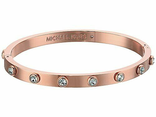 New Michael Kors Knife Edge Rose Gold