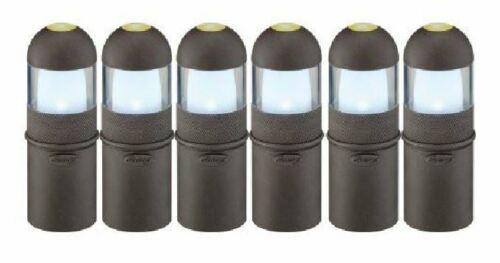 6 Malibu LED Garden Outdoor Pathway Yard 1 WATT BLACK LANDSCAPE LIGHT NEW!