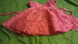 Dresses-Toddler-Rare-Editions-18m-Toddler-Dress-Bright-Pink