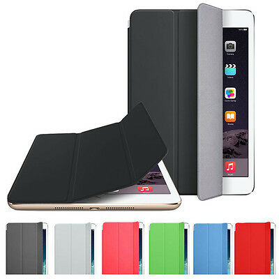 Slim Magnetic Leather Smart Cover Sleep/ Wake Case Cover For iPad mini 3 Retina