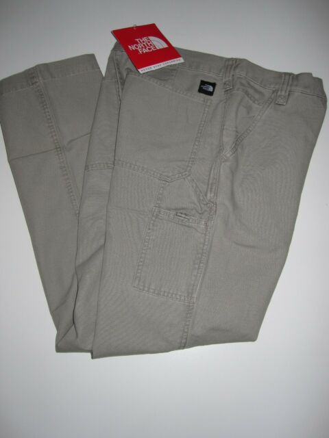 THE NORTH FACE Cotton Utility Hiking Pants Women sz 8 Waist 28-29 Medium NEW NWT