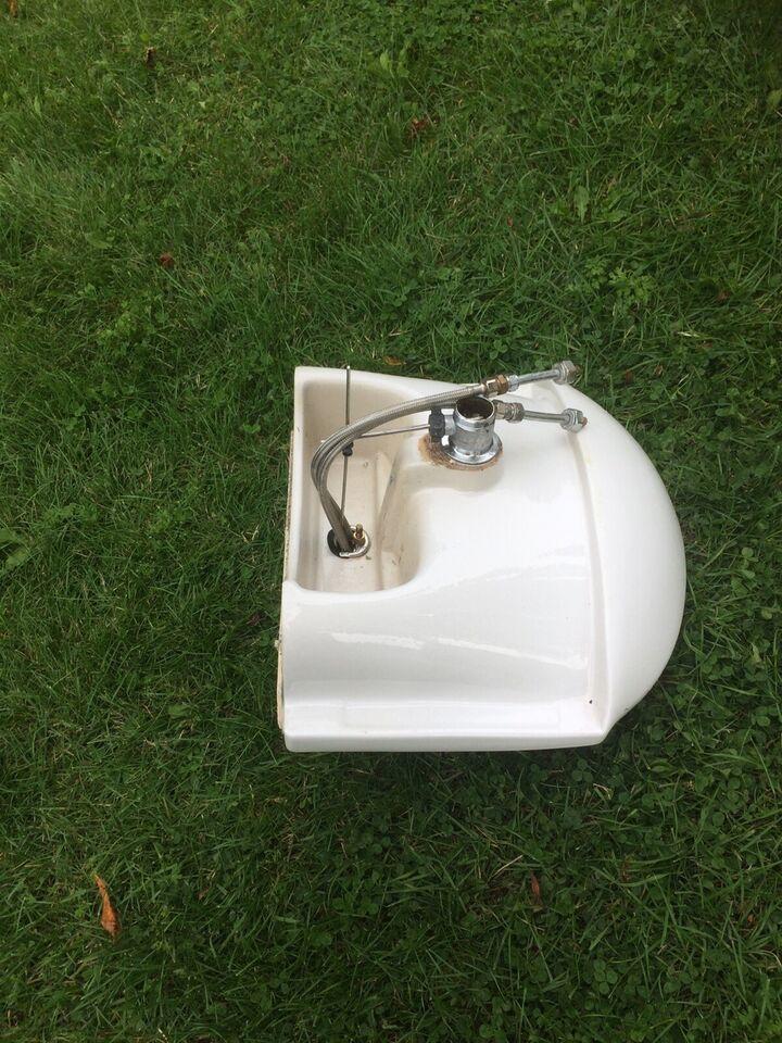 Porcelænsvask med GROHE armatur