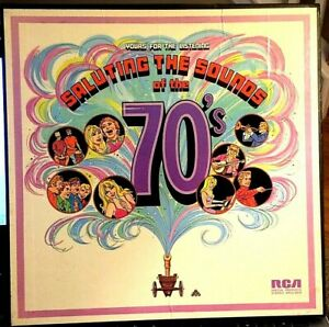 SALUTING-THE-SOUNDS-OF-THE-70-039-S-4-LP-BOX-by-Chet-Atkins-the-Monkees-etc-EX