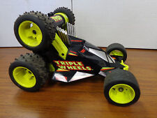 Vintage TYCO 6v RC Triple Wheels Stunt Car