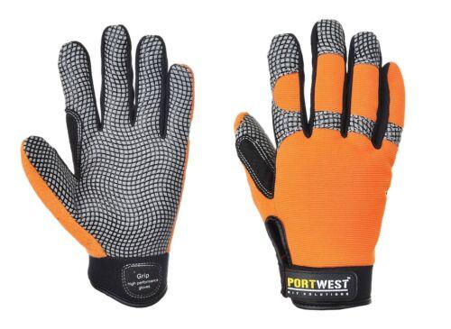Portwest A735 Confort Grip-Haute Performance Gants-croix diagonale /& respirant
