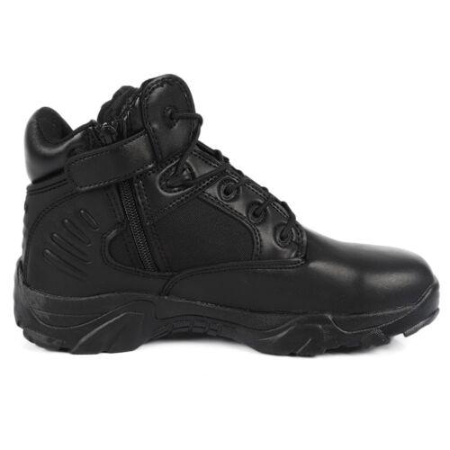 Men/'s Lightweight Tactical Military Combat Shoes Desert Waterproof Boots Black