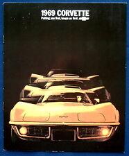 Prospekt brochure 1969 Chevrolet Chevy Corvette Reprint (USA)