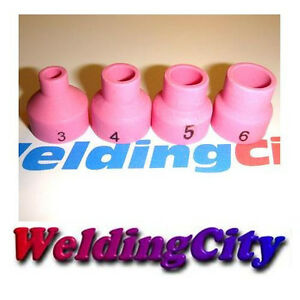 10Pcs TIG Welding Alumina Ceramic Lens Cups 53N61S #8 Torch 9//20 B7F6