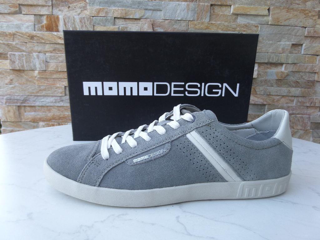 Momodesign Zapatillas 40 Talla Zapatos de Cordones Zapatos gris Nuevo Antiguo
