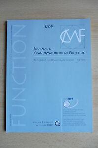Journal-of-Craniomandibular-Function-CMF-Heft-3-2009-ISSN-18684149-DGZMK-CMD
