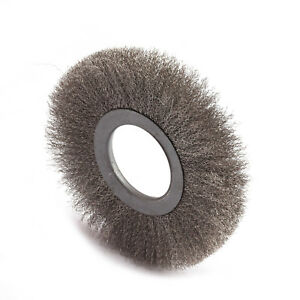 12mm Thread 43mm Diameter Steel Wire Tube Brush Cleaning Tool