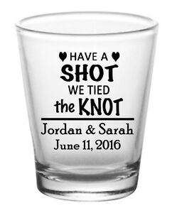 wedding favor shot glasses personalized custom 144 glasses ebay