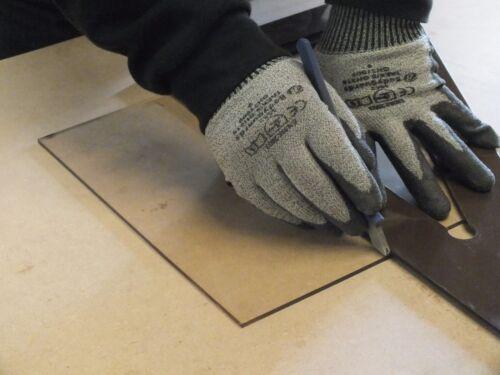 Heat Resistant Stove Glass Cut to 200mm x 98mm x 4mm thick Log Burner Glass