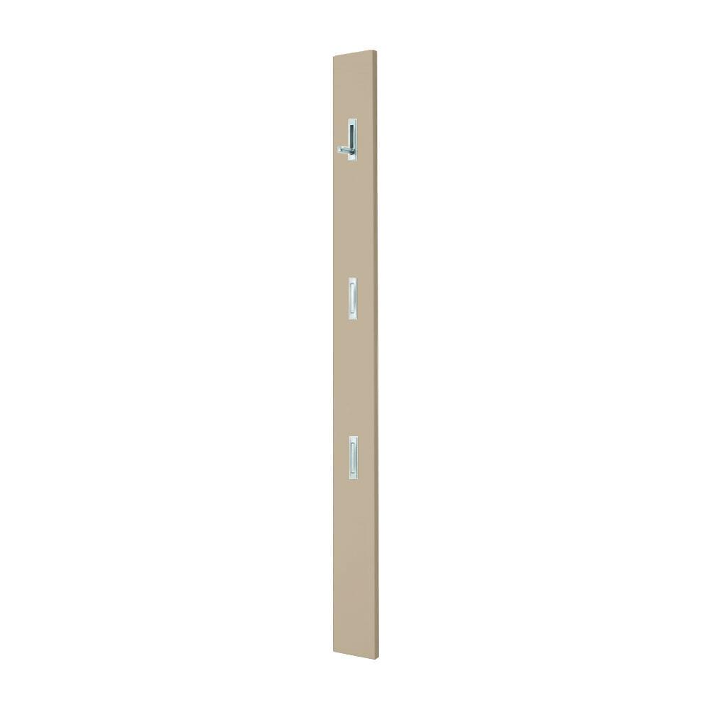 Voss Garderobenpaneel Garderobe Wandgarderobe Solo mit 3 Haken Haken Haken ausklappbar 07217d