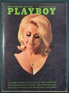 Playboy-1965-September-with-Centerfold-GREAT-condition-magazine-amp-Ads