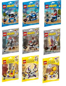 Lego Mixels Serie 7-Juego Completo (9 Piezas) - Nuevo