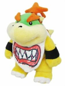 Baby-Bowser-Jr-7-034-Plush-Super-Mario-Bros-Little-Buddy-Toy-Stuffed-Doll-Koopa