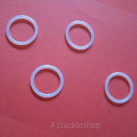 4 X Smk Xs79/qb79 Uprated Urethane Co2 Bottle Adaptor O Ring Seals - Ref 100g