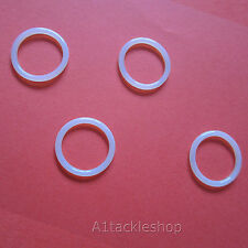 4 x SMK XS79/QB79 UPRATED URETHANE CO2 Bottle Adaptor O Ring Seals - Ref 100G