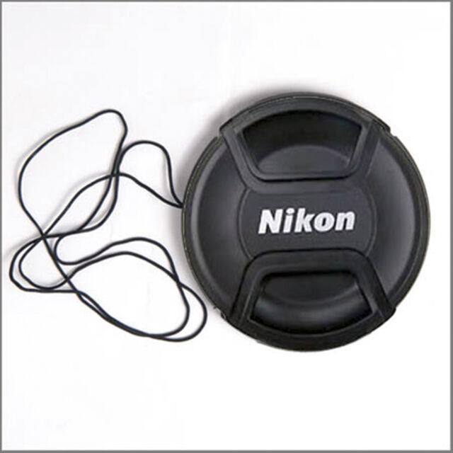 TAPPO COPRIOBIETTIVO A MOLLA 58mm NIKON REFLEX CAP  LC-58 55-300MM