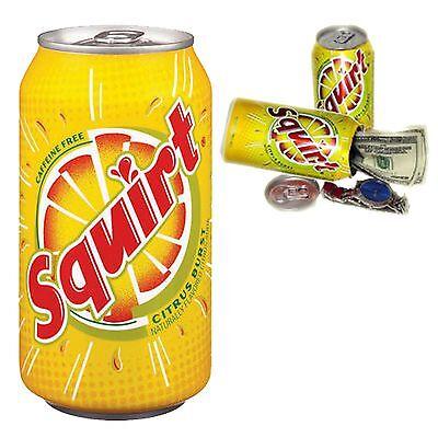 Citrus Soda 12oz Can Safe Hidden Storage Secret Diversion Stash Fake Soda Can
