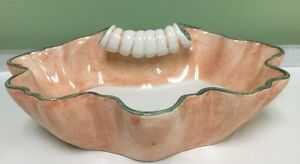 Casa Pupo Italian Ceramic Dish Bowl Vintage Mid Century