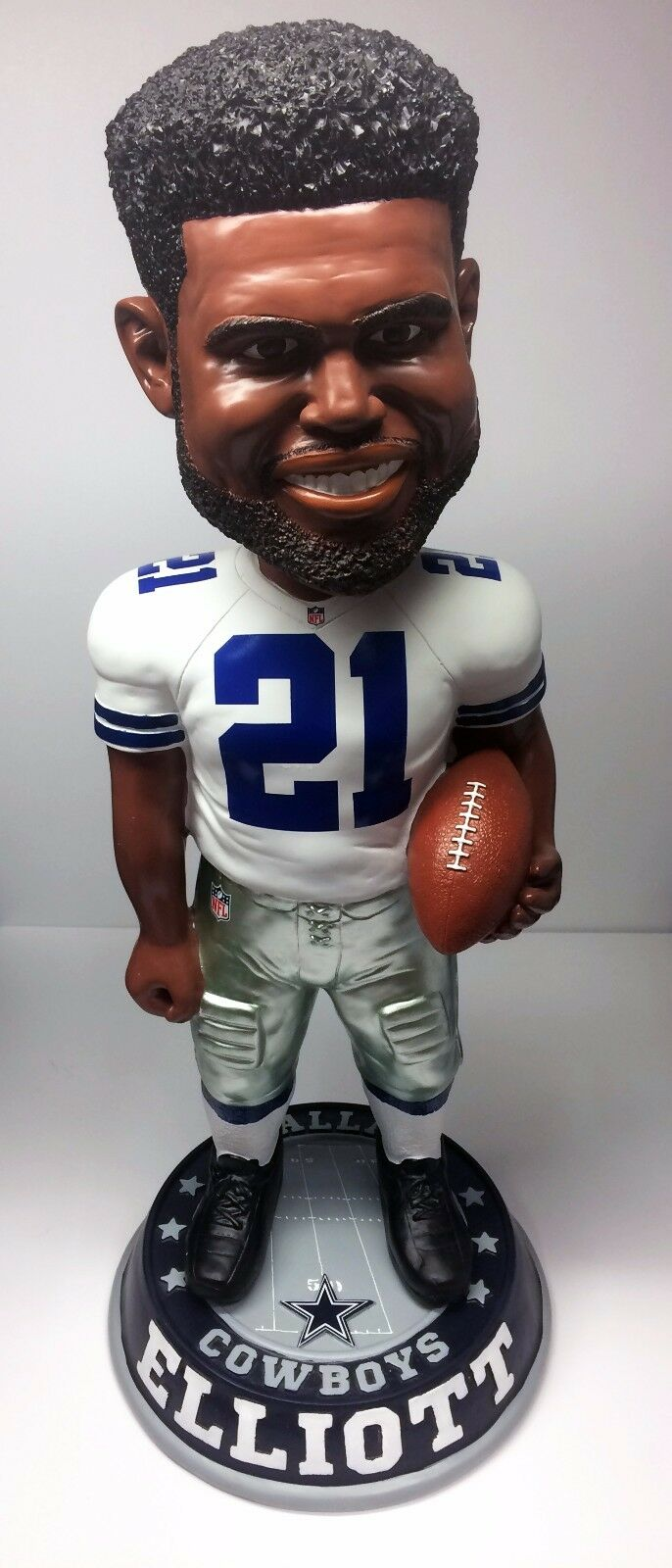 Dallas Cowboys Ezekiel Elliott Un-Signed 3 FT 36